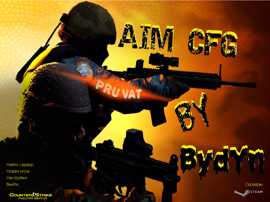 Counter-Strike 1.6 by Bydyn [AIM CFG]